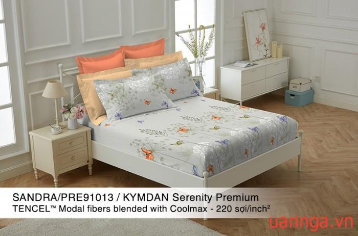 Bộ Drap KYMDAN Serenity Premium ( gồm 1 Drap và 2 áo gối nằm)
