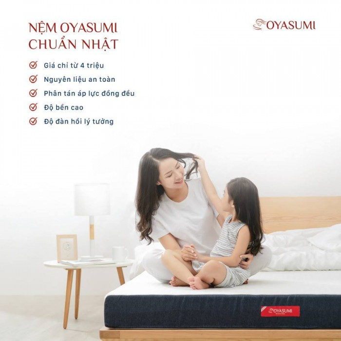 Đệm Oyasumi ỎRIGINAL dày 15F 1 tấm