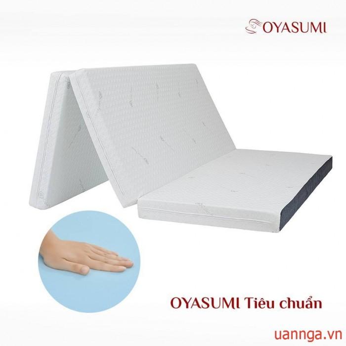 ĐỆM OYASUMI ORIGINAL 3 TẤM (TIÊU CHUẨN) dày 9cm